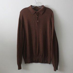 Barney New York Size XL 100% Cashmere Sweater